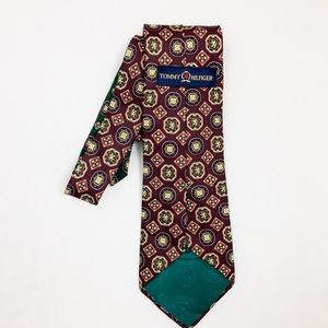 Vintage Tommy Hilfiger 100% Italian Silk Tie
